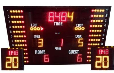 Yarı Profesyonel Benekli Basketbol Skorbord Ürünleri