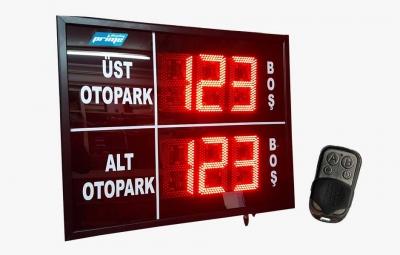 Otopark Boş Dolu Bilgilendirme Sistemi Fiyatları